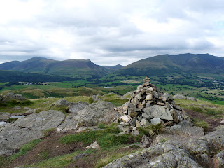 Skiddaw & Blencathra from High Rigg Summit