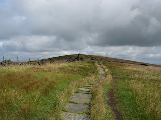 Looking back to Cats Tor
