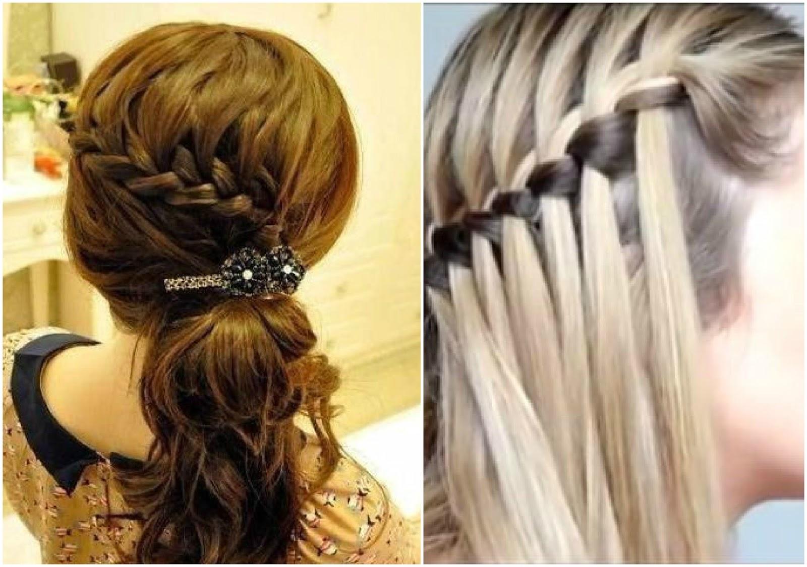 Peinados recogidos de lado con trenza - Peinados recogidos con trenzas ...