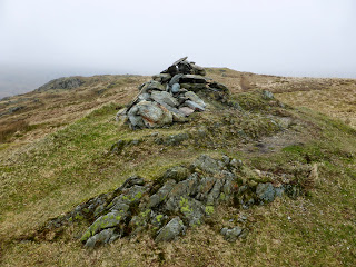Troutbeck Tongue summit cairn