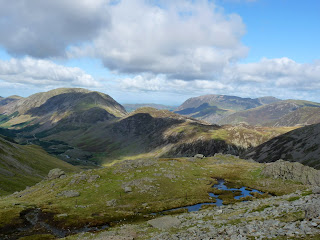 Looking north from Beck Head