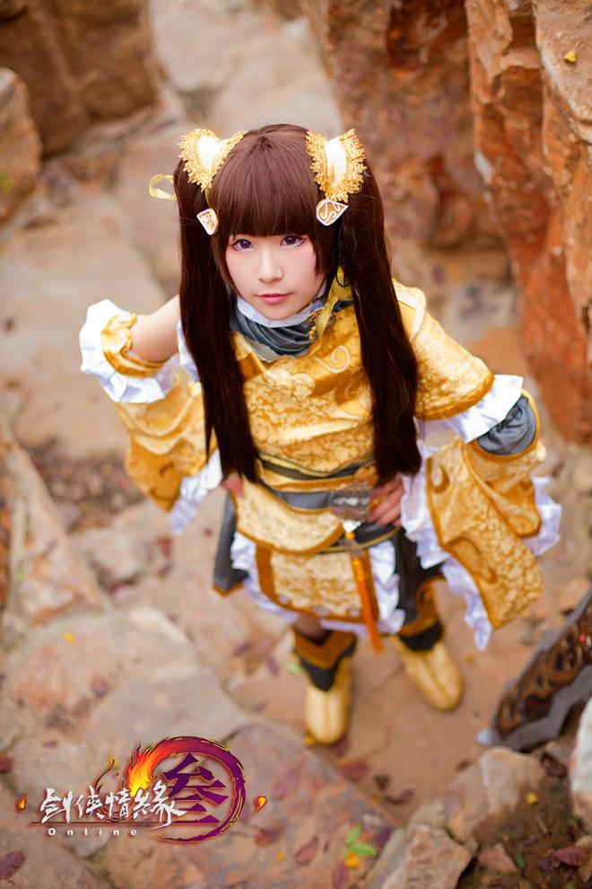 Thiên Thương dễ thương với cosplay Tàng Kiếm - Ảnh 2