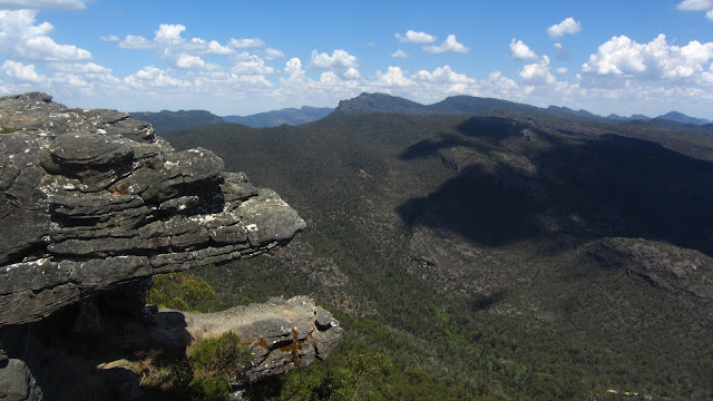A scenic lookout over the Grampians National Park.