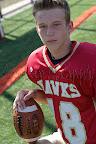#18 Tanner Strauss 5'6″, 135lb, Gr9 R/LB