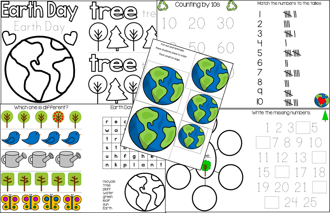 earth day coloring sheets - Earth Day Coloring Pages Apples4theteacher