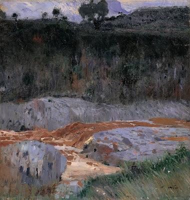 Joaquim Mir - Red Earth (1921)