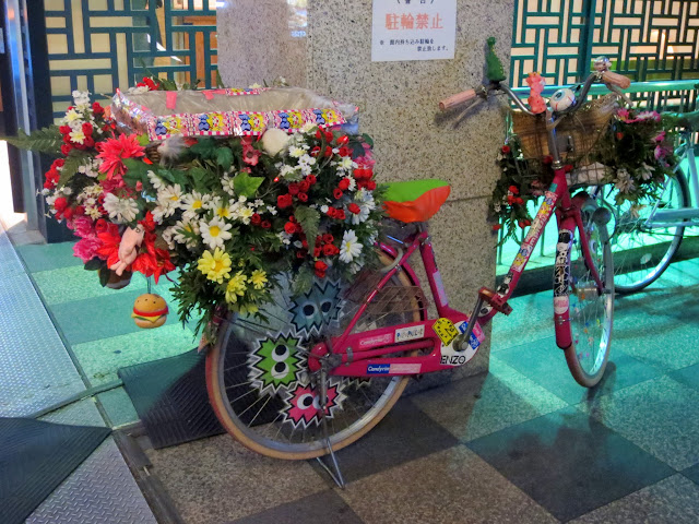Bicycle spotted in Osaka's Shinsaibashi Suji