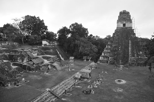 Tikal's Grand Plaza