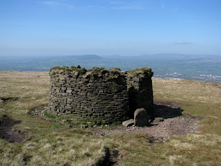 Shelter on Pendle Hill