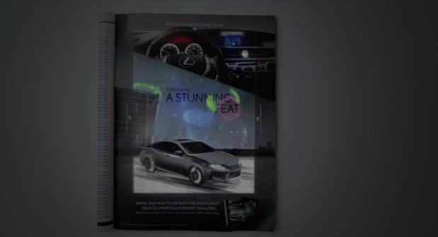 Lexus Print Ad Comes To Life With An Ipad