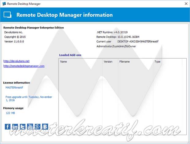Remote Desktop Manager 11