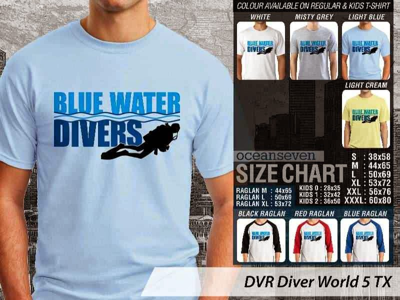 Kaos DVR Diver World 5 TX distro ocean seven
