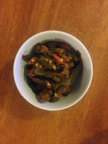 A Turkish okra recipe