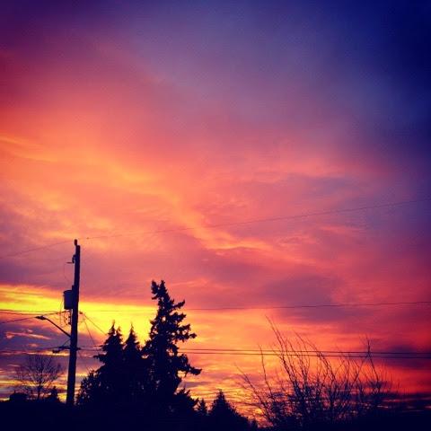 South Seattle Sunset