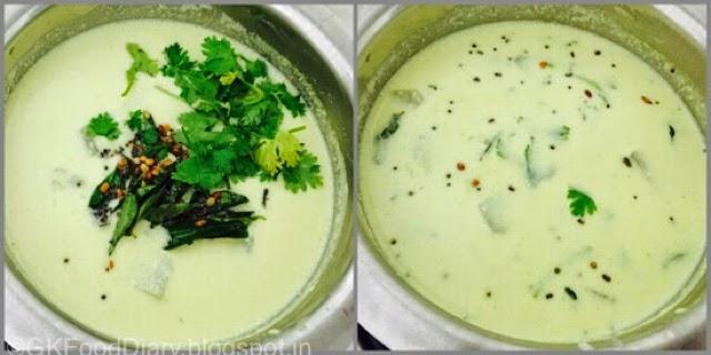 Mor Kuzhambu Recipe | Poosanikkai Mor Kuzhambu | Kuzhambu Recipes 7