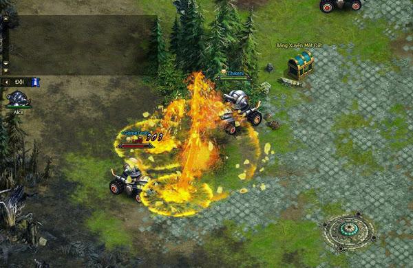 Thần Khúc thành game bắn xe tăng với bản cập nhật mới 6