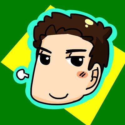 Бруно Сенна в стиле комикса сезона 2012