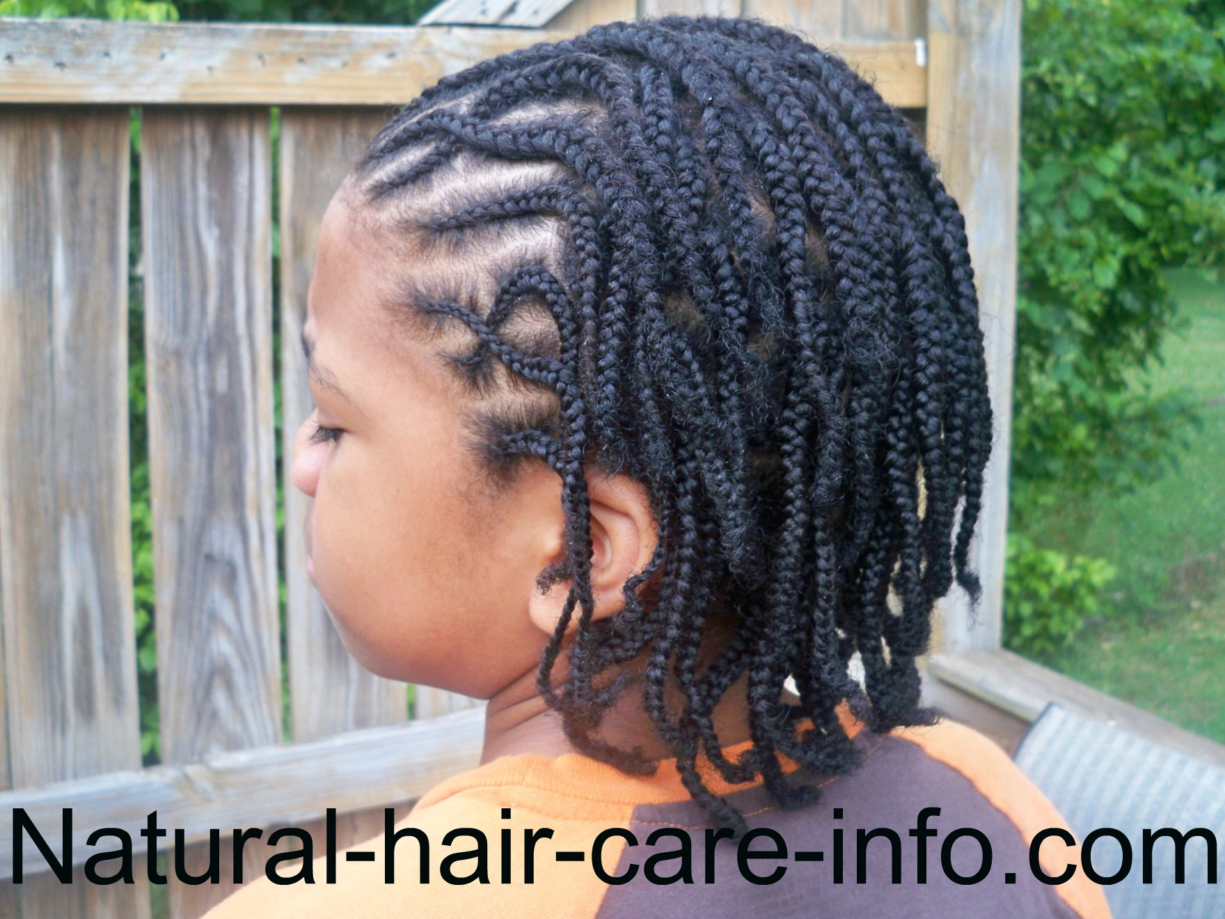 males braids hair style