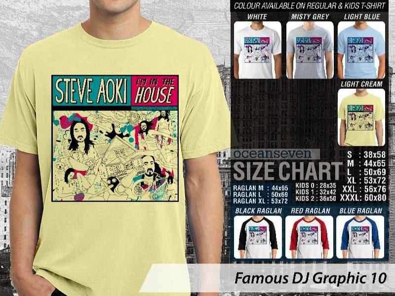 KAOS Musik DJ 10 Steve Aoki Im in The House distro ocean seven