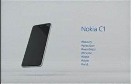 Nokia Siapkan Nokia C1 Dengan OS Android Lolipop