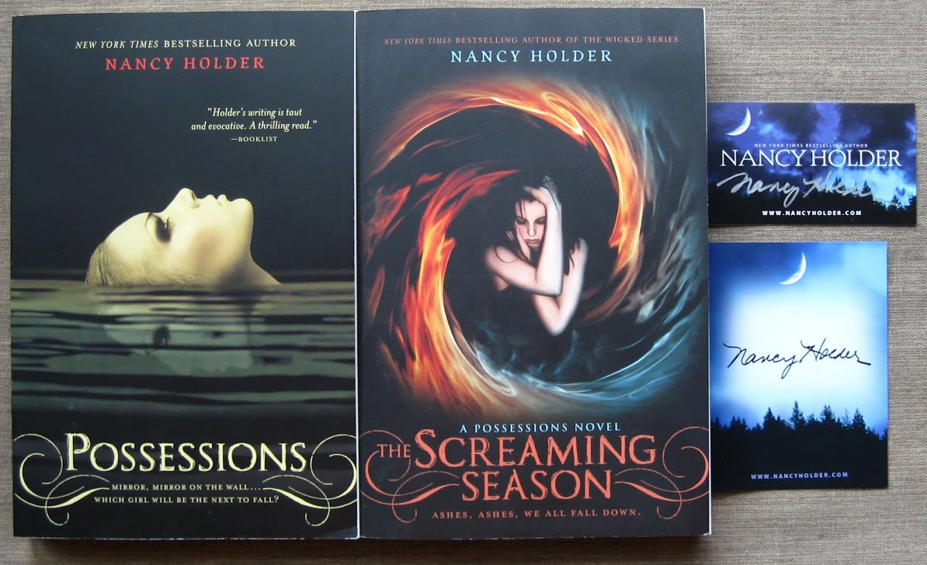 Blogoversary Giveaway #10 — The Nancy Holder Prize Pack