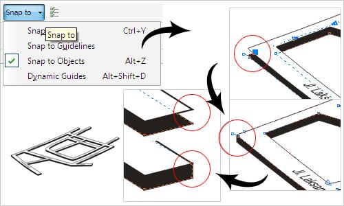 membuat peta penunjuk arah 3 dimensi dengan coreldraw