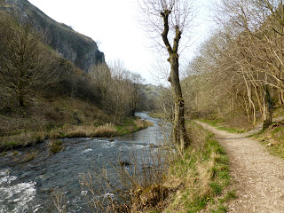 The River Dove in Dovedale