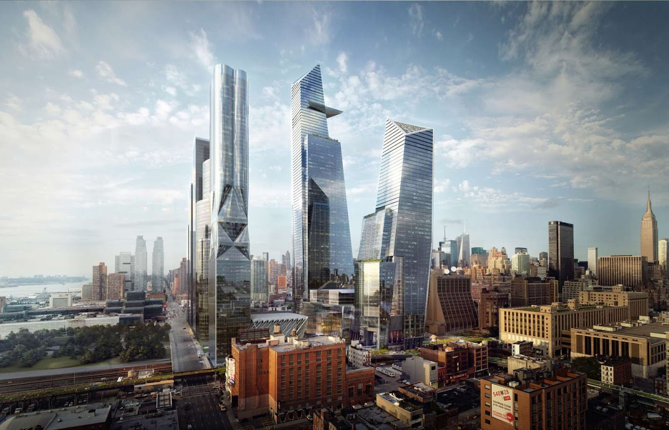 SOM: HUDSON YARDS PROJECT BREAKS GROUND