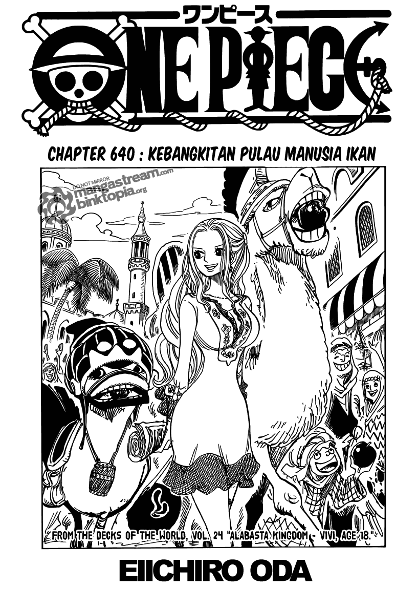 Baca Manga, Baca Komik, One Piece Chapter 640, One Piece 640 Bahasa Indonesia, One Piece 640 Online