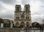 Widescreen view of Notre Dame