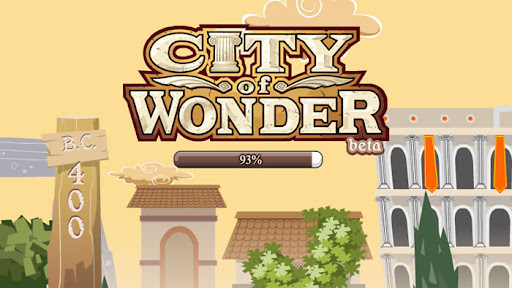 City of Wonder Loading Screen