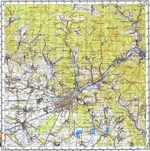 Map 100k--m34-130--(1988)
