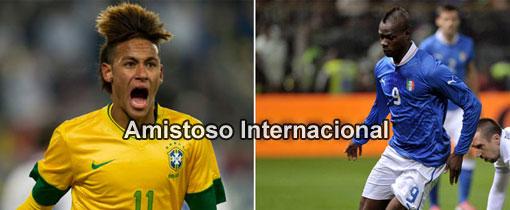 Brasil vs. Italia en Vivo - Amistoso Internacional 2013