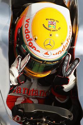 Льюис Хэмилтон приносит McLaren победу на Гран-при Венгрии 2012