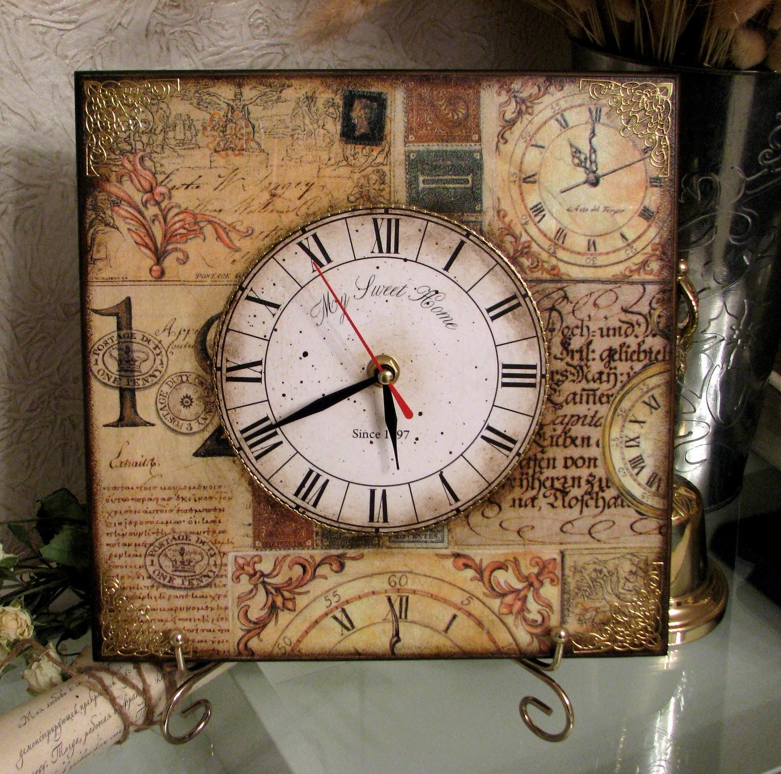 Декор старых часов своими руками 93