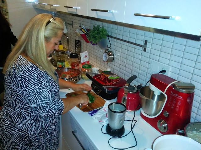 Cooking Turkish Food with locals