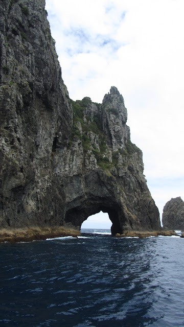 "The famous ""Hole in the Rock""."