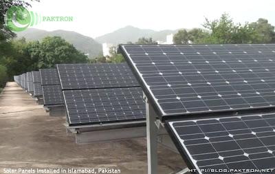solar panels Islamabad Pakistan