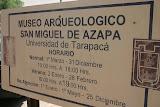 Museo Arqueologico, Arica, Chile