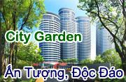 City Garden, căn hộ Cao ốc Quận Bình Thạnh, HCM