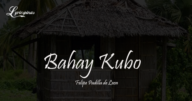 English-Tagalog Nipa Hut