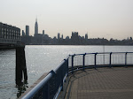 The view from the ferry pickup
