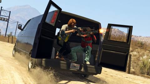 Game PC Grand Theft Auto V - Screenshot 01