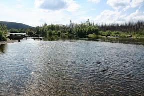 Rijeka Lozva, najsjevernija točka do koje smo došli