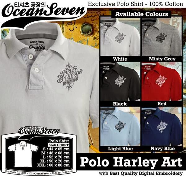 POLO Harley Davidson 1 Logo distro ocean seven