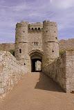 Entryway to Carisbrooke Castle - Carisbrooke, United Kingdom