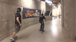 the Utah Jazz arena makes for an excellent skate track