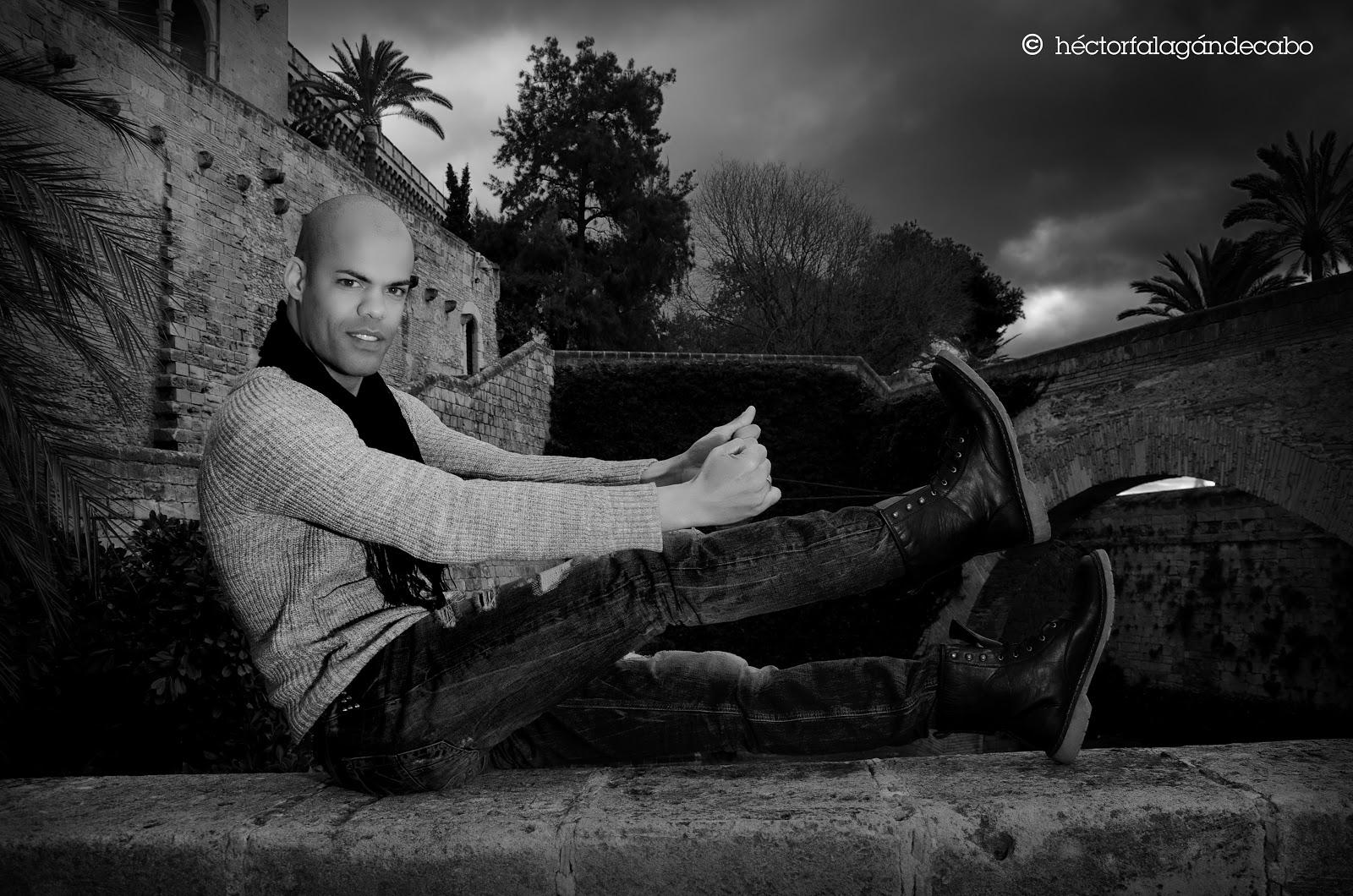 Fotografía Modelos Mallorca. Cleber: Desafiando el Invierno. Héctor Falagán De Cabo | hfilms & photography. Mallorca, Islas Baleares, España.