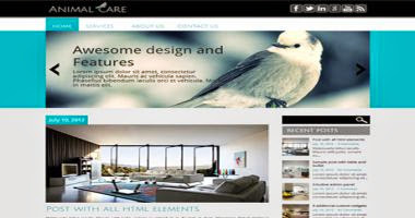 AnimalCare WP Theme