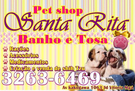 Pet Shop Banho e Tosa Santa Rita, Av. Kakogawa, 1063 - Parque das Grevileas, Maringá - PR, 87025-000, Brasil, Loja_de_animais, estado Paraná